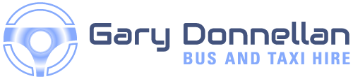 Gary Donnellan Taxi and Bus Hire logo